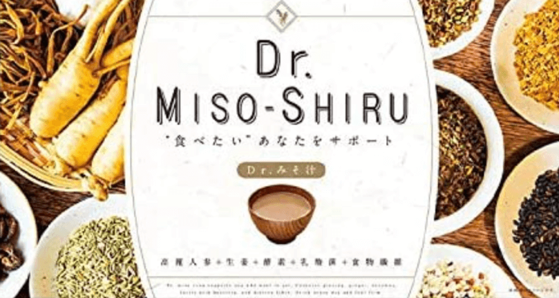 Dr.味噌汁のパッケージ写真