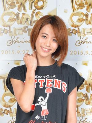 髪のアクセサリーが素敵な坂田梨香子さん