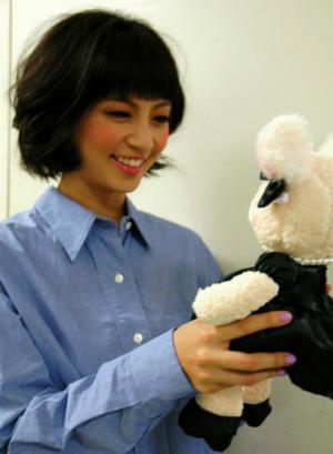 NHKの朝ドラにも出演中の安田美沙子さん、発見!