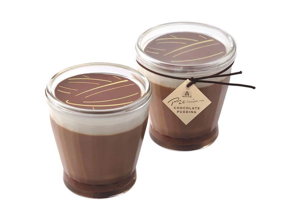 濃密プレミアムチョコレートプリン