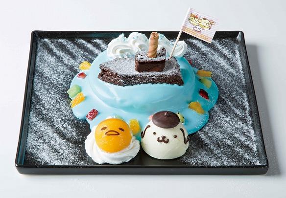 冒険へ出発~!なかよしパンケーキ 1,190円(税抜)