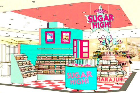 SUGER HIGH! 店内イメージ