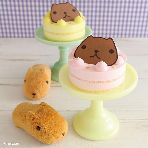 カピバラさん ベリ~ンショートケーキ 2,000円(税込)