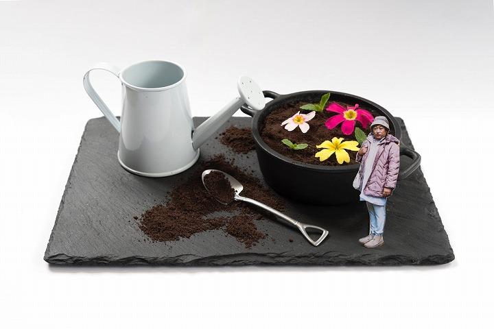 カラカラの花(あなた)を潤す キヨちゃん先生パフェ ¥1,190