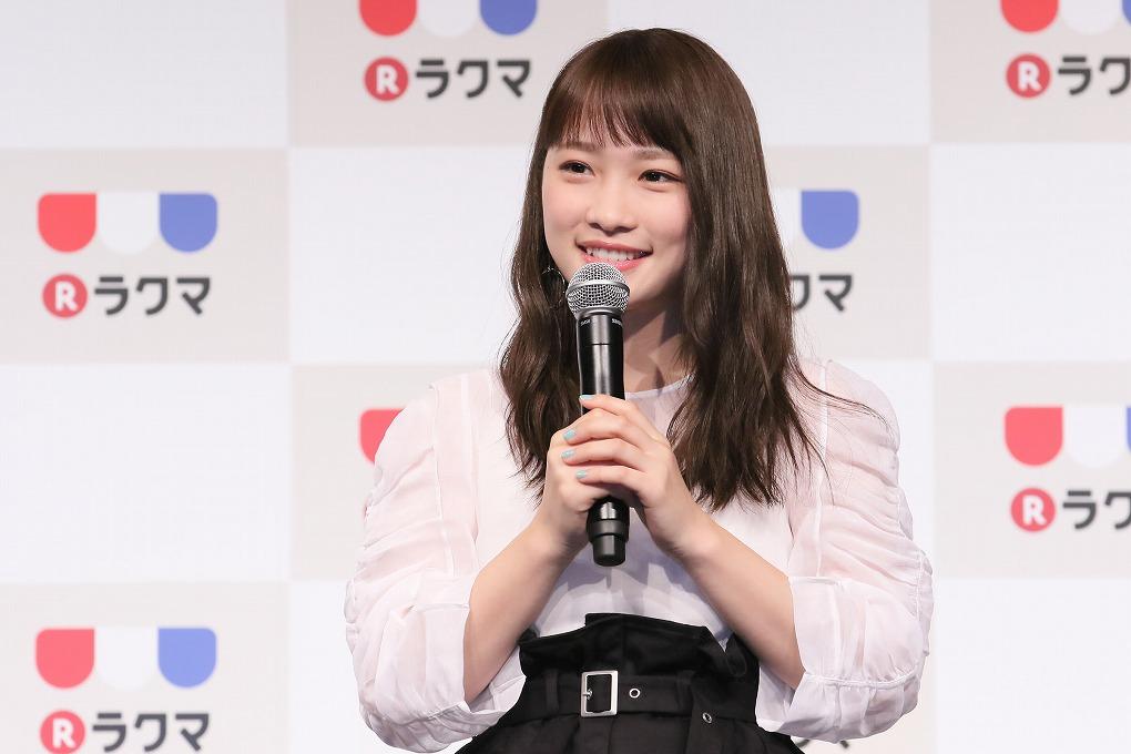 新CM発表会_川栄李奈
