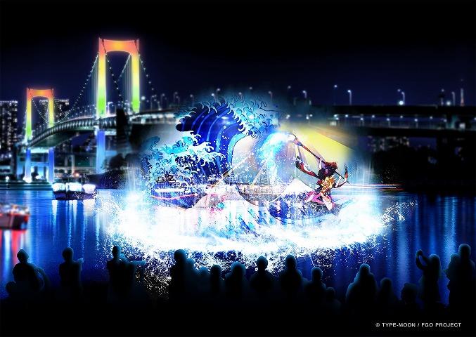 浮世絵×スマホゲーム「hokusai&TOKYO 水辺を彩る江戸祭」