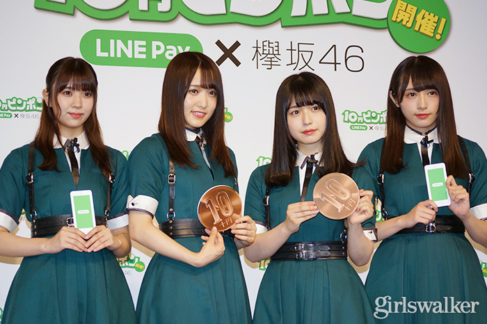 欅坂46メンバー 新CM会見で大阪府北部の地震被災者気遣う「より一層ご注意を」