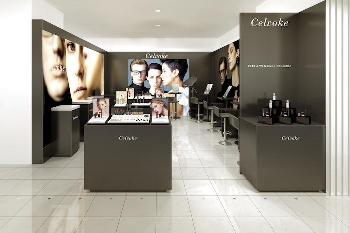 Celvokeが9月、伊勢丹新宿店本館1階に直営店をオープン