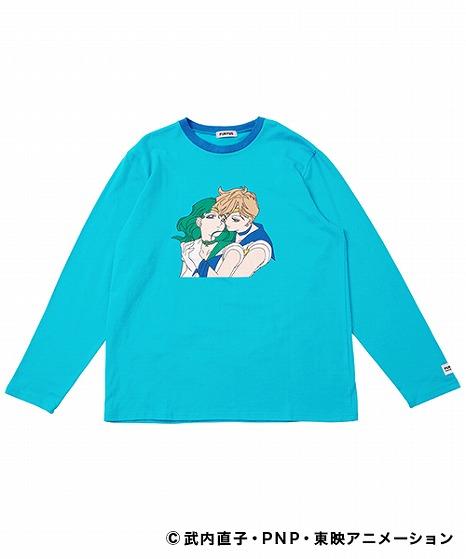 プリントリンガーロングTシャツ