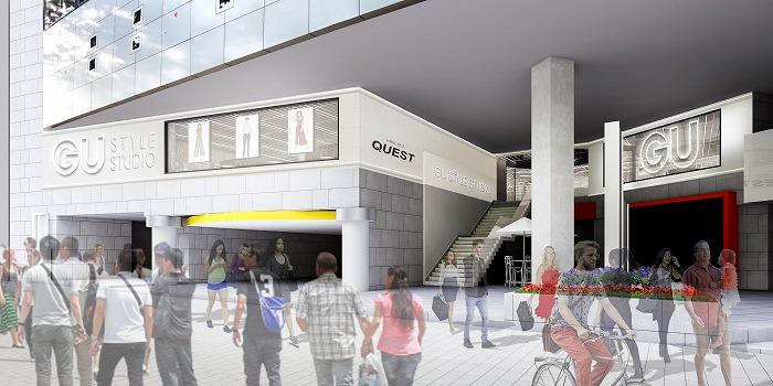 GUの次世代型店舗「GU STYLE STUDIO」、11月原宿オープンへ