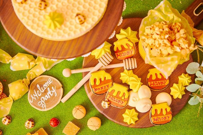 5種類のはちみつを食べ比べ♡ チーズとハニーの豪華ブッフェ「表参道でハニーハント」限定オープン
