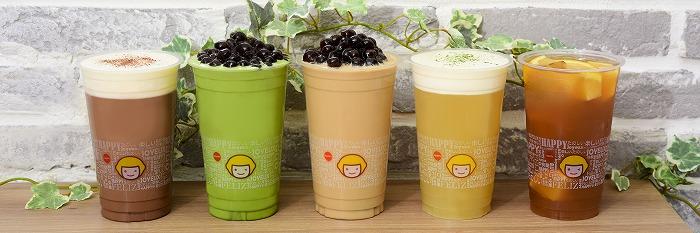 あの大人気タピオカミルクティーが300円!台湾茶専門店「happylemon」が東京初進出