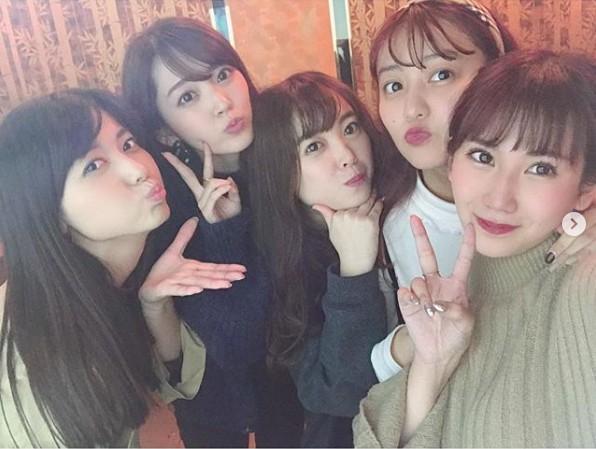 鈴木愛理ら元℃-uteメンバー集結にファン歓喜「無敵感が半端ない」