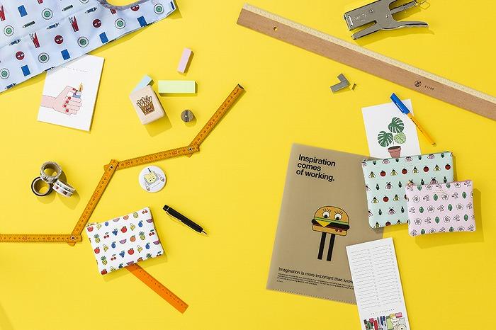 ドイツ発のキュートなイラストが定番文房具に♡ DELFONICS×redfriesコラボレーショングッズ発売