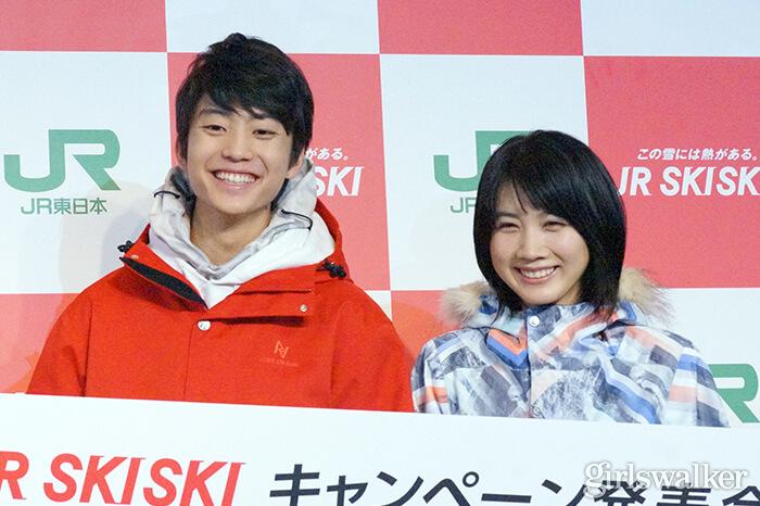 伊藤健太郎、松本穂香目線で撮影された胸キュン動画に「好きになっちゃう」〈JR SKISKI〉