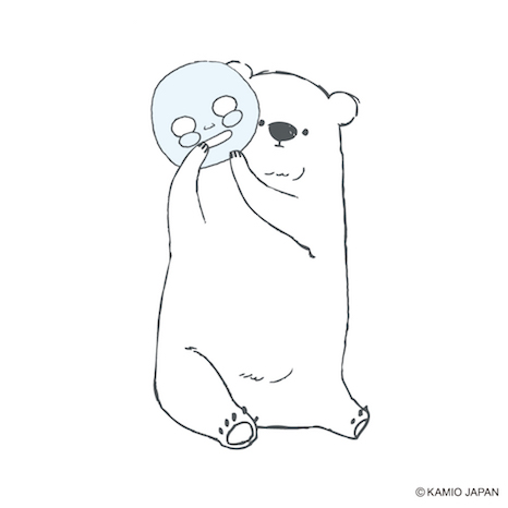 ゆる可愛いシロクマが目印まるで雪のような素肌になれるスキンケア