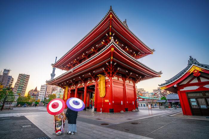 江戸の魅力をまるごと体感!浅草寺はデートで行っても楽しいらしい♡