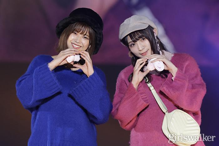 欅坂46渡邉理佐&渡辺梨加、仲良しランウェイで披露したポーズの意味は?<TGCしずおか2019>