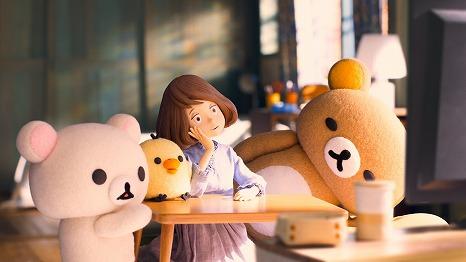 ゆるかわ♡Netflixオリジナルアニメ『リラックマとカオルさん』場面写真を解禁!