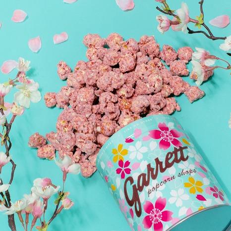 ギャレットポップコーンショップス®の新作はイチゴづくし♡春限定SAKURA缶もリリース