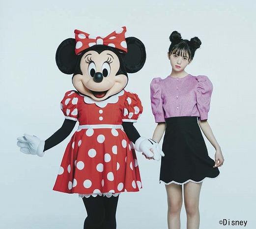 ミニーが『sweet』にモデルとして登場!ミニーのキュート&スタイリッシュな魅力が詰まったコラボアイテムも続々展開中
