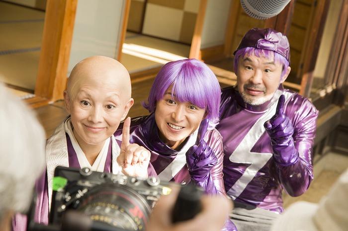 嵐・大野智、今年も全身紫のアレグラ人に変身!新テレビCMがオンエア