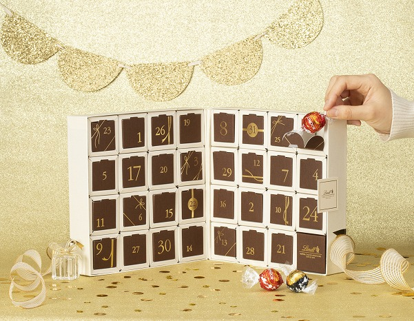 1日1粒の至福の楽しみ♡リンツのチョコが毎日楽しめるカレンダーが登場