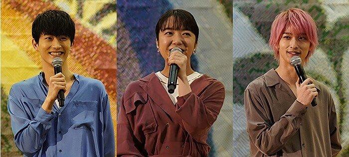 上白石萌音、杉野遥亮、横浜流星が中学校にサプライズ訪問!胸きゅん台詞対決に大熱狂