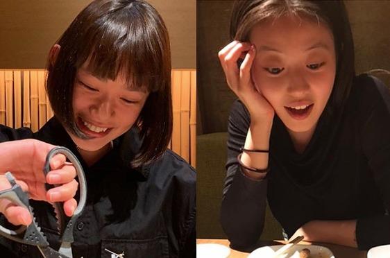 """杉咲花&今田美桜 """"花晴れ""""コンビの仲良し同時投稿にファン興奮「お宝写真」"""