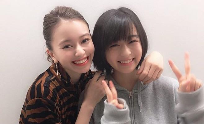 人気上昇中の注目女優・山本舞香&森七菜の仲良しショット「この2人はヤバい♡」の声