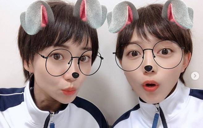 """川口春奈&大島優子、""""瓜二つ""""なショートヘア写真が話題「双子なの!?」「姉妹みたい」"""