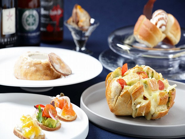 前菜からデザートまで全部パン!星野リゾートで「つき夜のパンまつり」開催