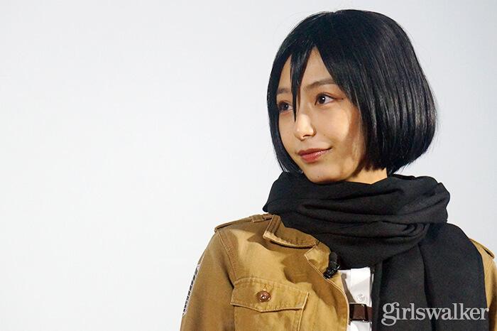 進撃の巨人展FINAL_宇垣美里01