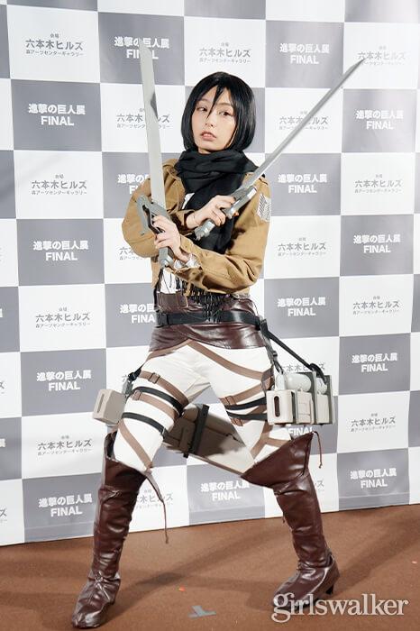 進撃の巨人展FINAL_宇垣美里05