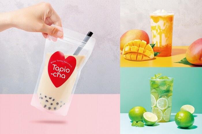 パックスタイルの大粒タピオカが映え♡「Tapio-cha」の路面店が横浜中華街にオープン