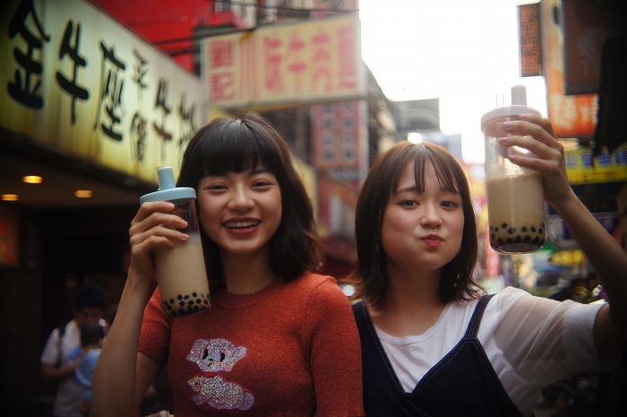 大原櫻子がタピオカ片手に台湾を練り歩く!ドラマ無料配信は今夜「Paravi」にて