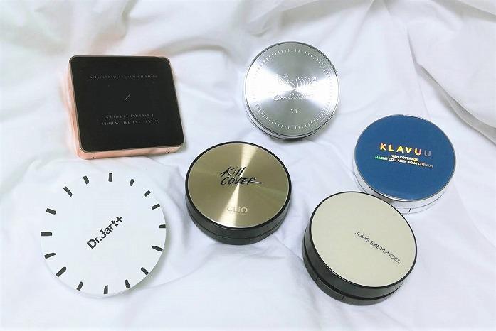【肌質別ランキング】韓国で人気のクッションファンデ6つを現地ライターが徹底比較