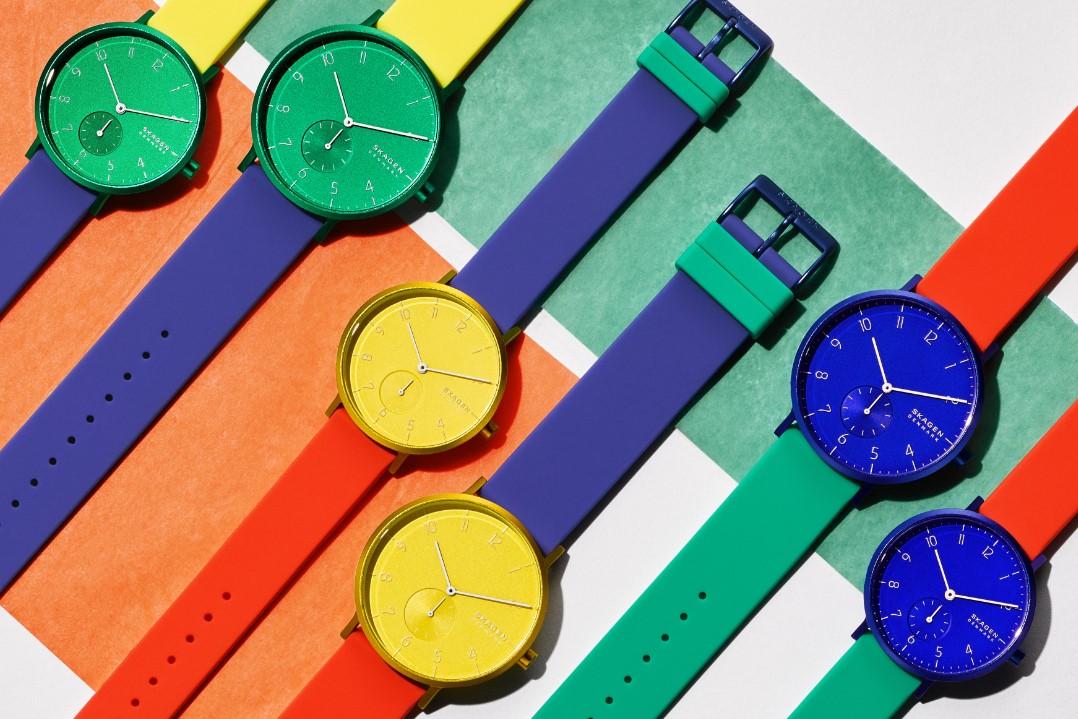 「スカーゲン」からポップでファッショナブルな新作腕時計が限定発売!