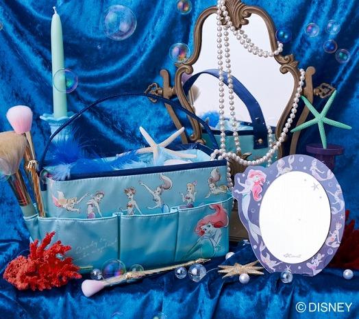 アリエル7人姉妹が集結♡「コクーニスト」からディズニー映画『リトル・マーメイド』の新作第2弾が発売