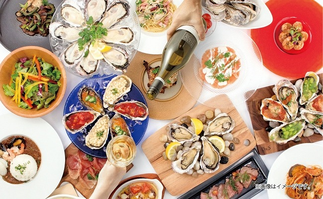 生牡蠣・カキフライ・焼き牡蠣など20品が5000円で食べ放題!1日15組限定の「秋のオイスターバイキング」