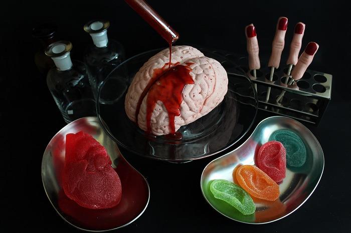 心臓グミに脳みそマシュマロ…ハロウィンにぴったりなグロ可愛いお菓子が登場