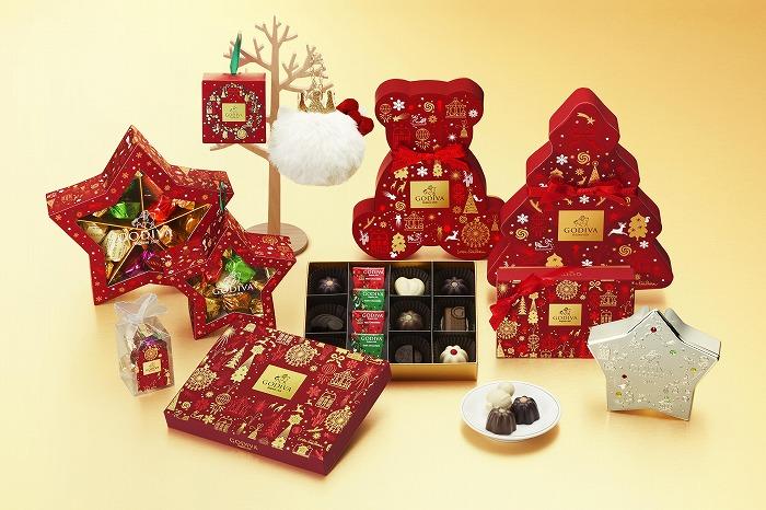 今年のクリスマスギフトに♡「ゴディバ」から華やかな冬季限定コレクションがお目見え