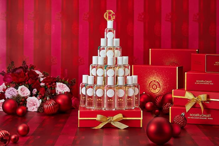 パリ発祥のロイヤルギフトブランド「ロジェ・ガレ」からクリスマスコフレがお目見え♡