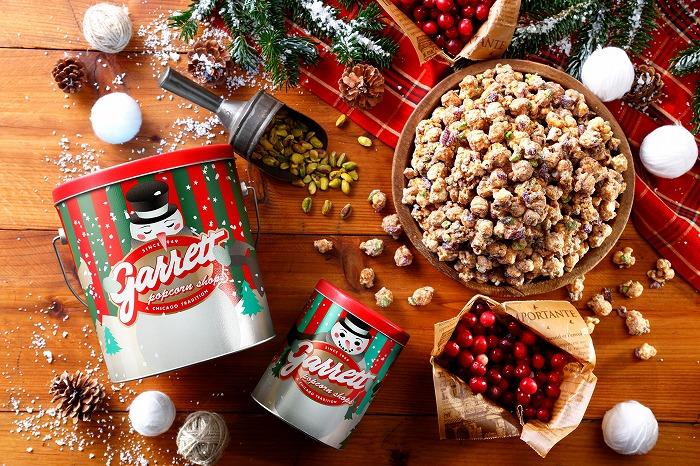 クリスマス気分を高めて♪「ギャレットポップコーン」から冬の期間限定フレーバーが登場