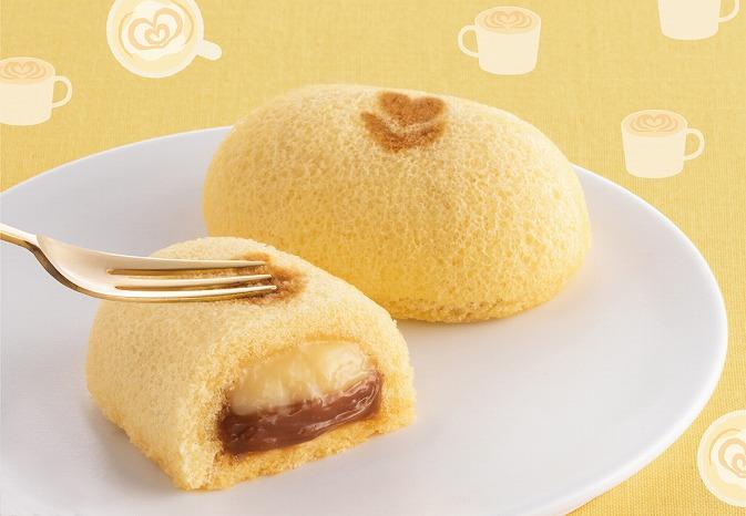 2層のクリームがポイントのふわとろ食感♡東京ばな奈の冬季限定「キャラメルラテケーキ」