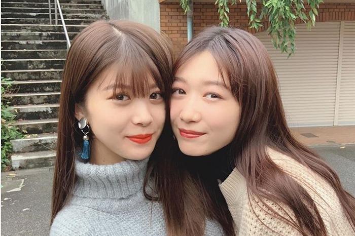 """馬場ふみか&岡本夏美、""""美人姉妹""""のような顔寄せ2ショットに「最高かよ!」"""