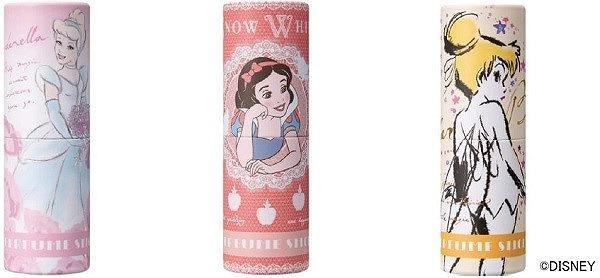 ディズニープリンセスが描かれたスティック型の練り香水が登場♡