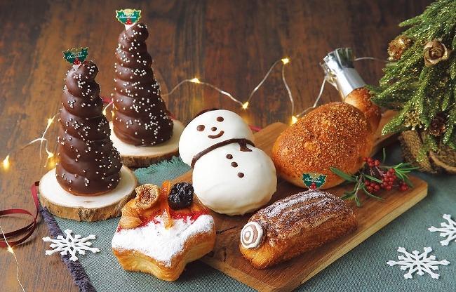 見て楽しい、食べて美味しい♡クリスマス限定のパン5種が「クイーンズベーカリー」に