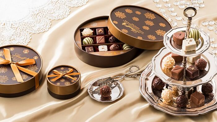 自分へのご褒美に…♥リンツの贅沢なチョコギフトがたまらない
