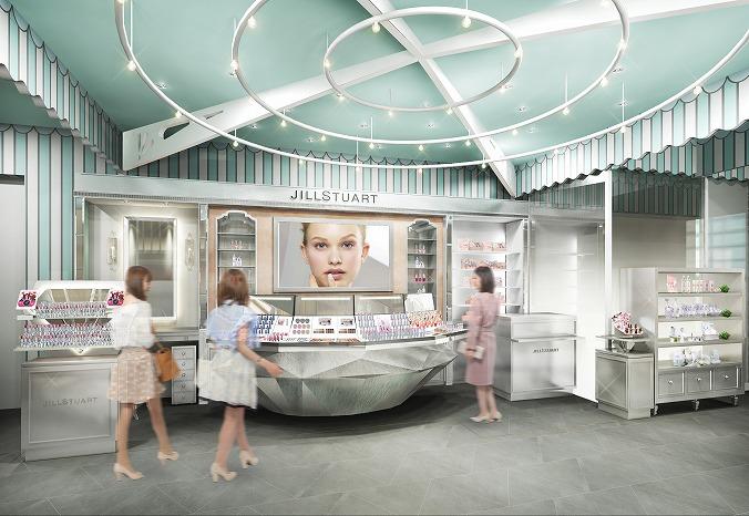オープン記念限定リップも♡ジルスチュアート ビューティの新店舗で可愛いを極めて